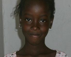 Diouma Faye  filleule de Karine