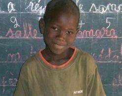 Ousseynou Séné filleul de Caroline  juin 2013