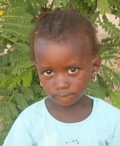 Fatoumata, filleule de Christine