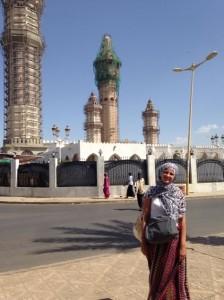 Marion Massot mosquée Touba