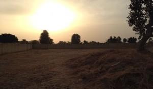 coucher de soleil sur louly